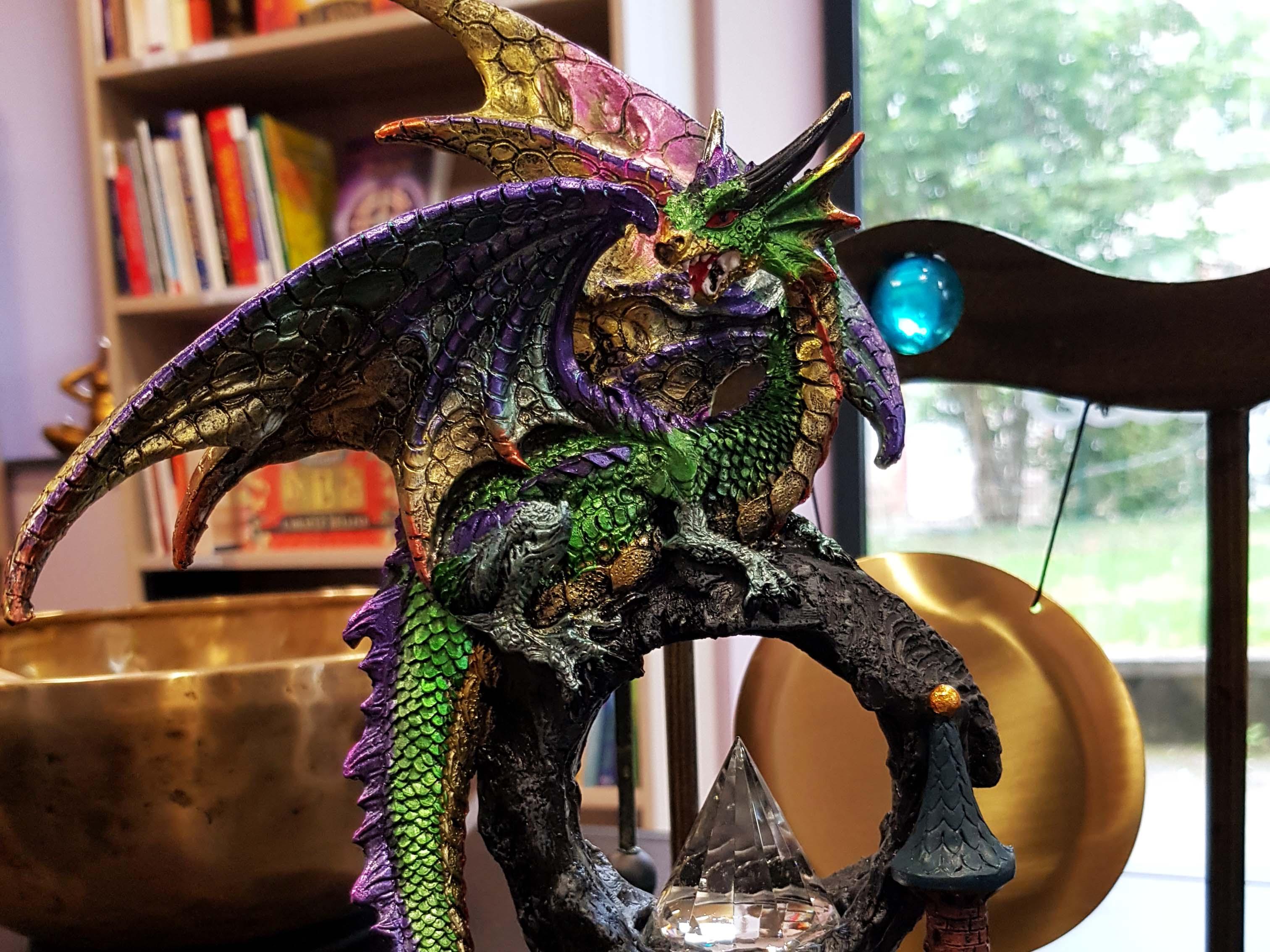 dragon multicolore