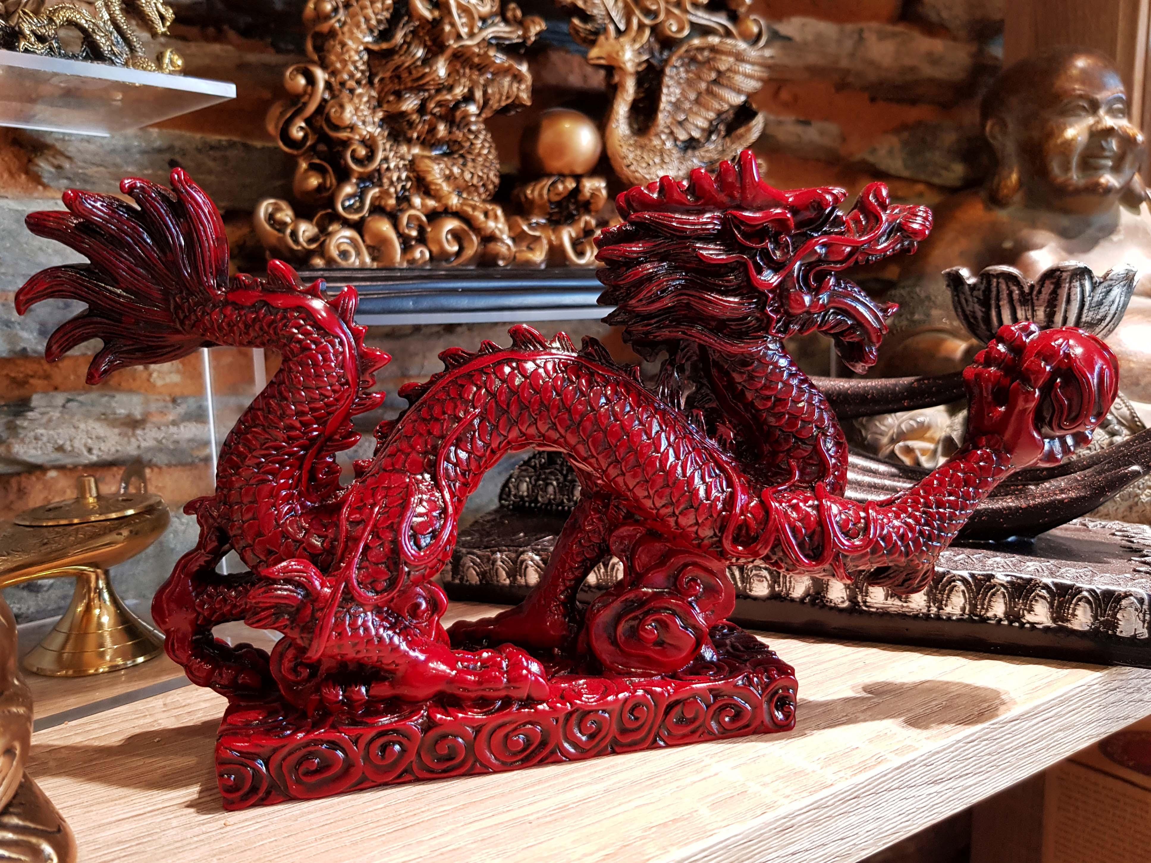 dragon rouge feng shui
