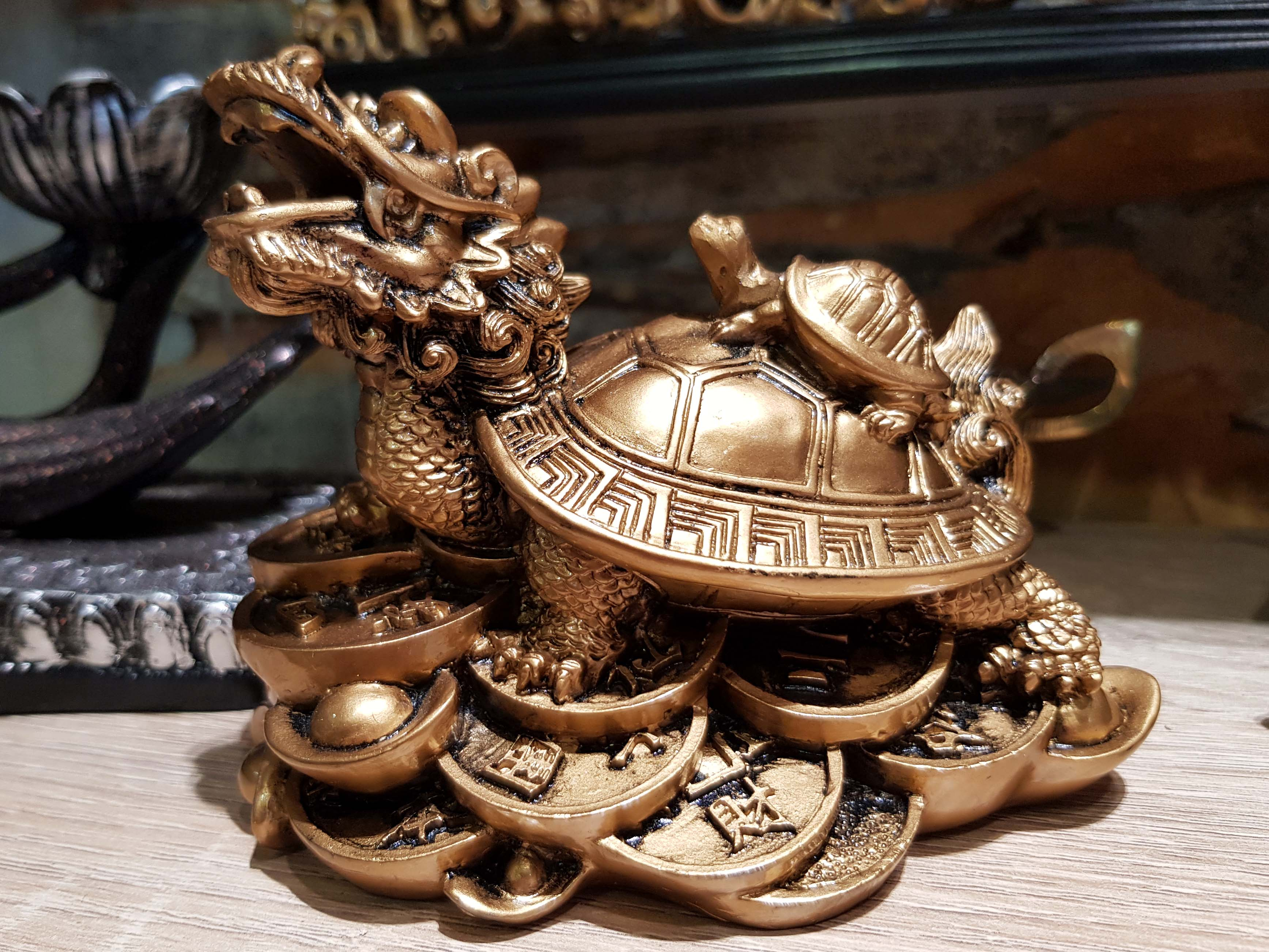 dragon tortue feng shui
