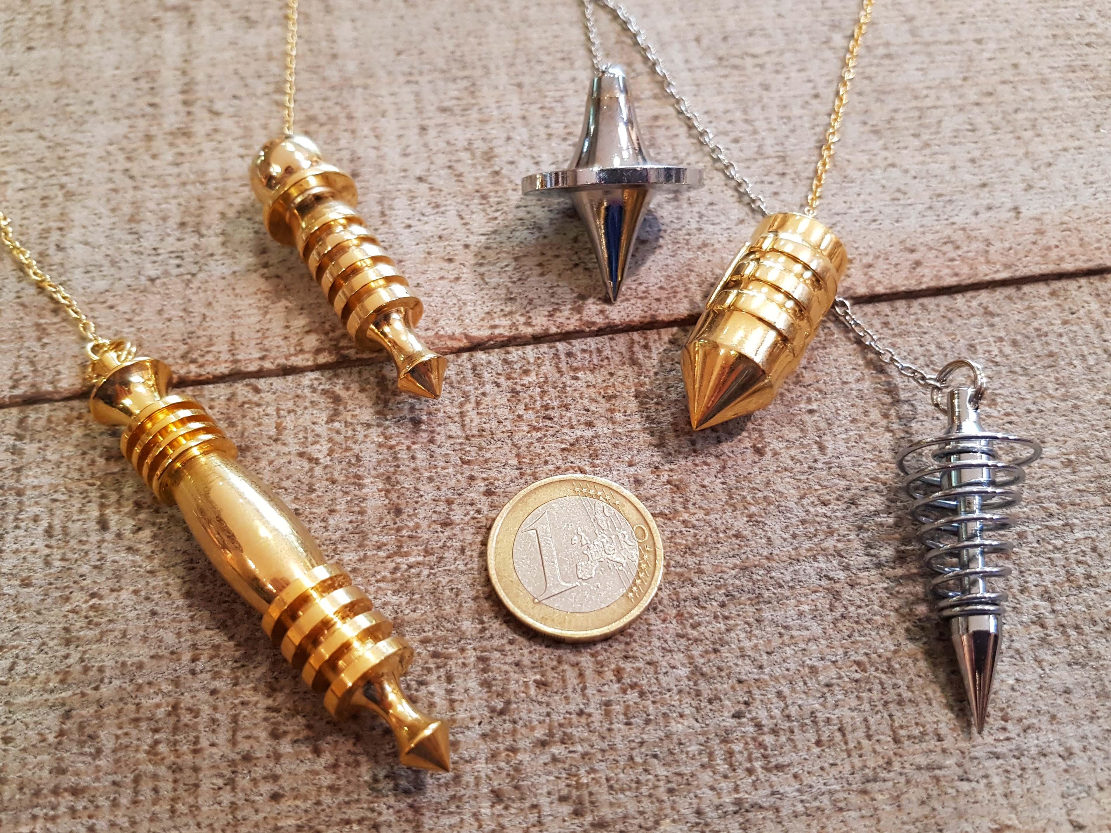 pendules métal